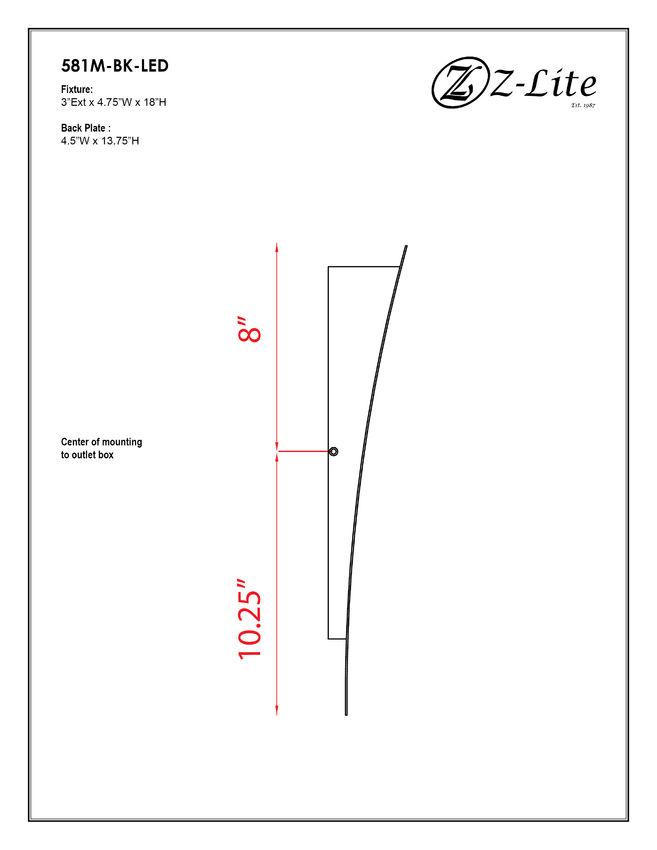 581M-BK-LED