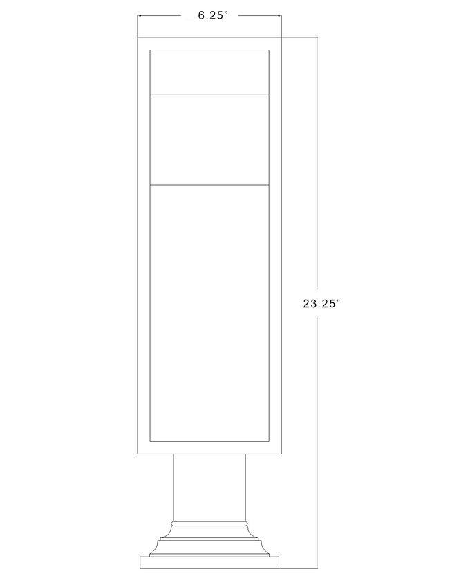 585PHMR-533PM-BK-LED